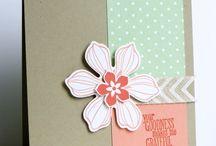 Beautiful Bunch Card Ideas / by Laurie Graham: Avon Rep/Stampin' Up! Demo
