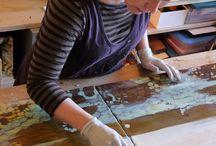 artis in studio