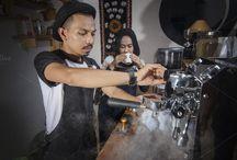 Couple Partners Coffee Cafe