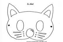 Activité : Animaux domestiques : chat, chien // Assmat / Assistante maternelle nounou enfant crèche RAM MAM petite enfance bébé activité et jeu chien chat