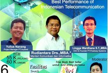 "Seminar Nasional ""BEST PERFORMANCE OF INDONESIAN TELECOMMUNICATION"""