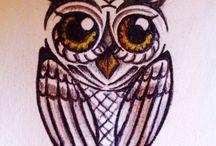 Tattoo tekeningen / Eigen krabbels