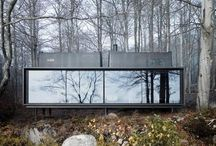Architecture / Houses, interior, landscape