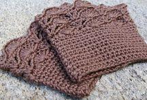crochet gloves/leg warmers
