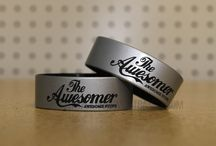 Silver wristbands / Silver color wristbands help to support various awareness programs and also you can raise funds by selling these custom bracelets with message embedded on it.Start to design your own @ AmazingWristbands.com / by Amazing Wristbands