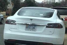 Electric Car License Plates