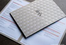 What is on the menu? / menu designs