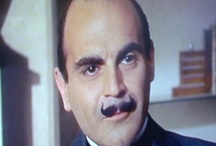 Hercule Poirot / Hercule Poirot, the Belgian fictional character created by Agatha Christie and portrayed by some actors, including David Suchet, the British actor in the British TV criminal drama. It is portrayed also by Tony Randall, Joh  Moffatt, Sir Peter Ustinov, Alfred Molina, Albert Finny, Sir Ian Holm.