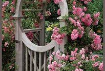 Zahradní branky, ploty, schody, cesty...