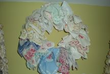 Vintage Handkerchiefs/linens / I have a large collection of vintage handkerchiefs/linens and love to use them.
