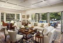 Family Rooms/Libraries / Cozy places to gather with friends or curl up with a book.