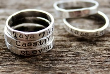 2 Sisters Handcrafted Rings & Earrings / Personalized, handcrafted and hand stamped artisan jewelry for men and woman, Wearable everyday style. Personalized never looked so good.