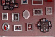 Photo wall ideas / Photos n things