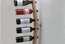 porte bouteilles mural, Accessories bottles, design by Eric Daout / www.douelledereve.com