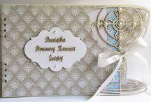komunia św. / Ręcznie wykonane kartki, zaproszenia i albumy wykonane z okazji komunii świętej z materiałów marki Papelia oraz innych dostępnych w sklepie Craft Style