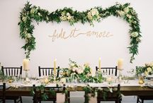 FLORAL GARLANDS / Floral Garlands and textures we love for weddings, events and styled shoots.