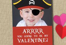 Valentine's Day / School Valentine Cards, Decorations and Valentine love