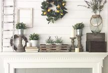 Spring decor and holidays