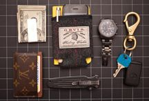 Man Style // Accessories / Things which enhance your style. A showcase of ties, bowties, sunglasses, tie clips, wallets, gloves, bags, and more. / by Kevin McCarthy