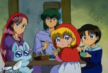 Akazukin Chacha / A manga and anime that ran from 1991 to 2000. Created by Min Ayahana.