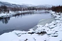 Winter in Northern Norway / Pictures from my hikes during winter in Northern Norway