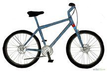 fiets tekenen/ontwerpen