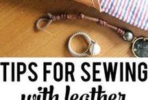 leather sew