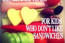 Kid Meal/Snack Ideas / by Leilani Trujillo