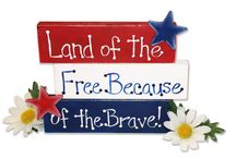 """Holidays - Patriotic Ideas / """"This Land is Your Land, this Land is My Land....."""" Ideas for President's Day, Memorial Day, Flag  Day, 4th of July, Veteran's Day / by Cindy Wartenberg Kolpek"""