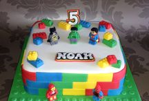 Torta compleanno Lego