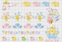 Crossstitch Baby Patterns