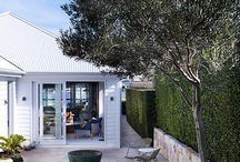 TAILORED SPACE // outdoor / Home exteriors that inspire our design work.