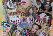 Nail Designs by Janneke Brouwer / All designs are made with the products from CND!