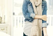 Layering / Add visual interest and coziness to your outfits with layers.