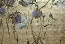 parchment - florals and gardens / botanical project inspiration / by Ulla Norup Milbrath