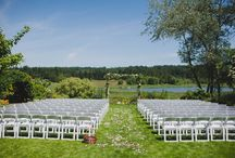 Fireseed Wedding Ceremony Setups / Couples Choose Various Ways Of Setting Up Their Ceremony, here are a few...