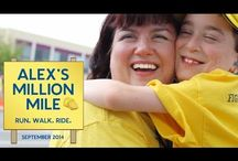 Alex's Million Mile / 1 month. 1 cause. 1 million miles. Motivation, tips and recipes in preparation for Alex Lemonade Stand Foundation's Million Mile - Run.Walk.Ride event raising awareness and donations for childhood cancer.