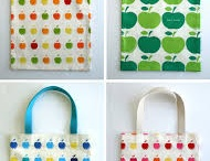 Fabric tote bag / by Lola