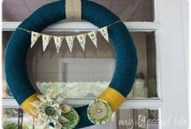 door decor / by Cynthia Coffey