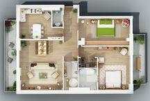 планировки квартир и домов