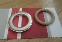 Kitchen/Dining Room Design Scheme / A wonderful stripe to add interest and depth to a kitchen scheme