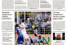 Capas / Acompanhe as primeiras do páginas do jornal O Estado de S. Paulo