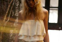LOOK BOOK -Printemps/Eté-2014 / Photographer   Thierry Ledé    Directrice artistique   Natacha Seban    Hair & Make up  Juliette Honold    Model   Eloise Oprysko