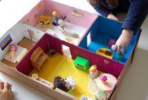 Maisons poupées