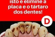 para manter limpos dentes