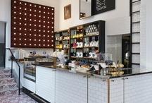 West Village Cafe Interior