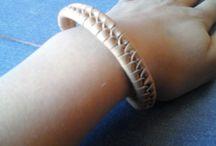 Bracelets done by me