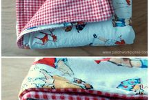 Sewn blankets