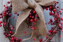 couronnes nature et Noël