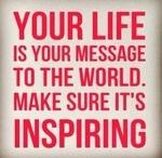 Inspirational messages.